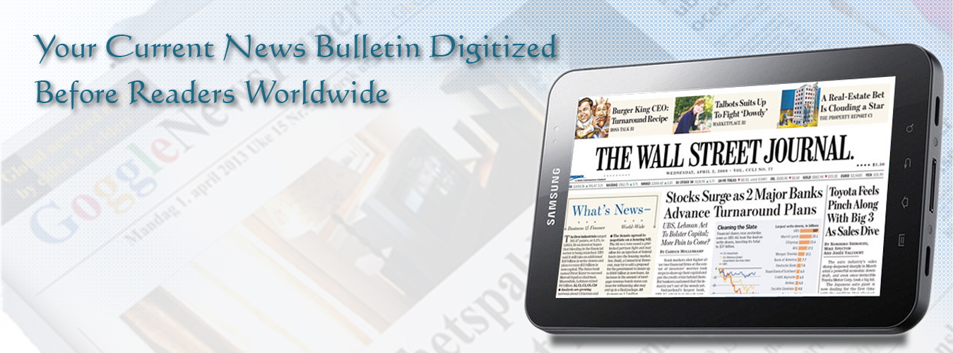 Newspaper Digitization Service