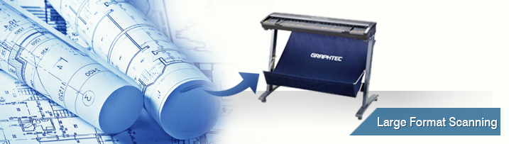 Wide Format Blueprint Scanning Service